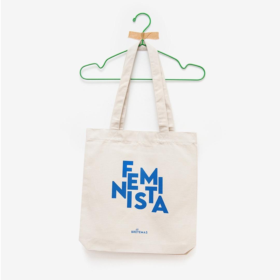 "Saca ""Feminista"" algodón orgánico serigrafía"