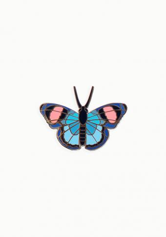 Pin bolboreta esmalte