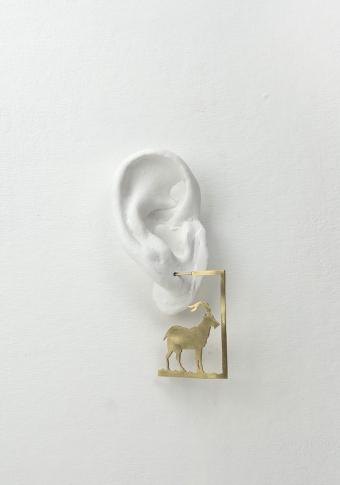 Pendentes cabra