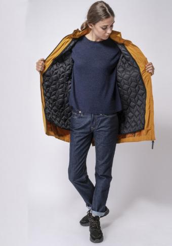 Abrigo impermeable con chaqueta desmontable 3 en 1