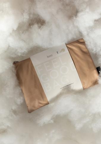 Bolso vegano impermeable reversible area/rosa