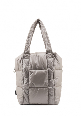 Bolso nube ouro grisaceo vegano impermeable