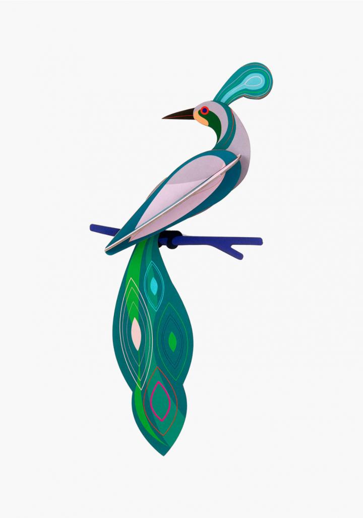 "Paxaro 3D reciclado ""Fiji"""