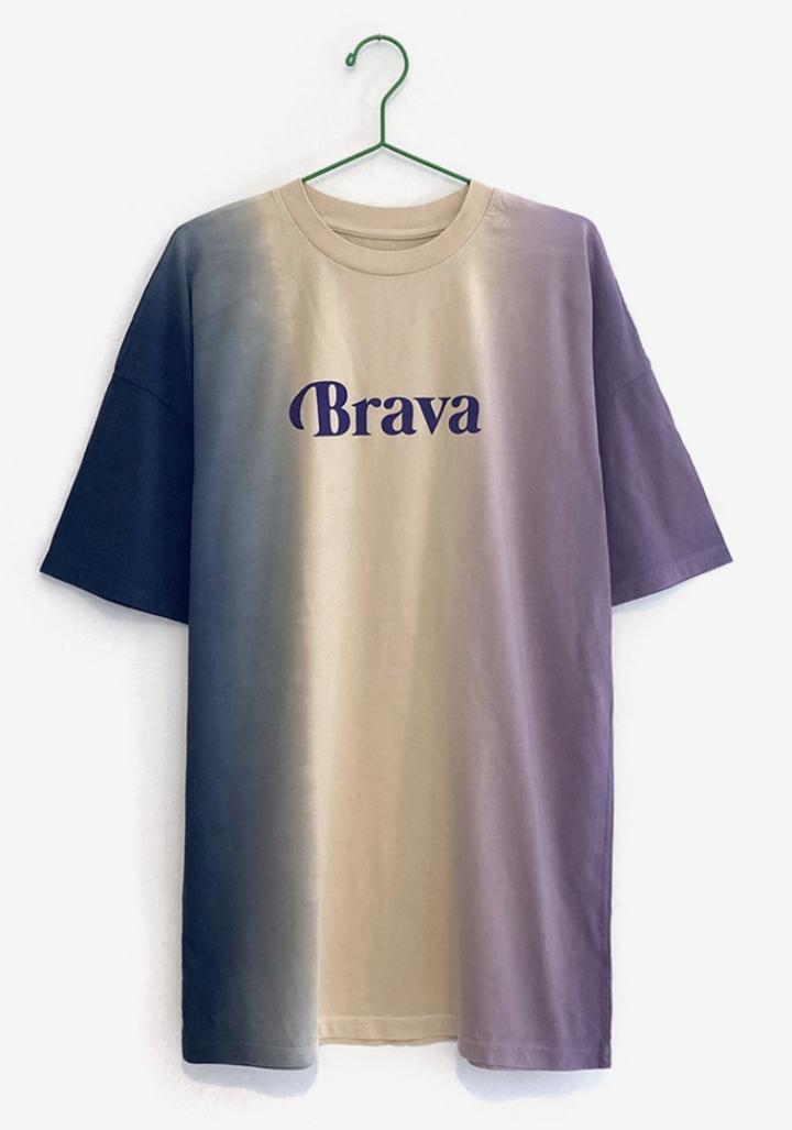 "Vestido-camiseta ""Brava"""