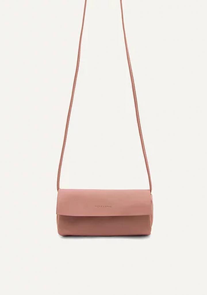 Bolso cilindro vegano rosa