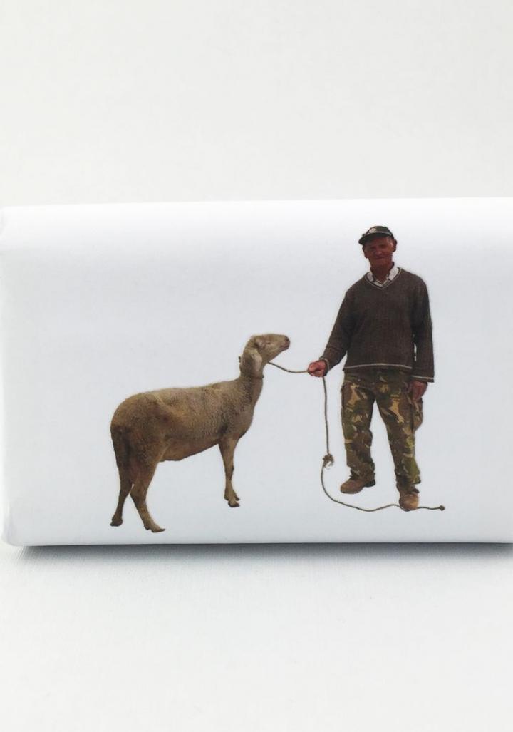 Xabrón leite de ovella e xazmín