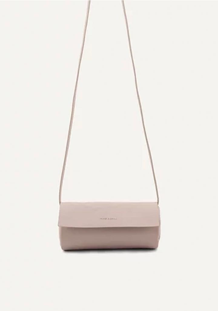 Bolso cilindro vegano branco