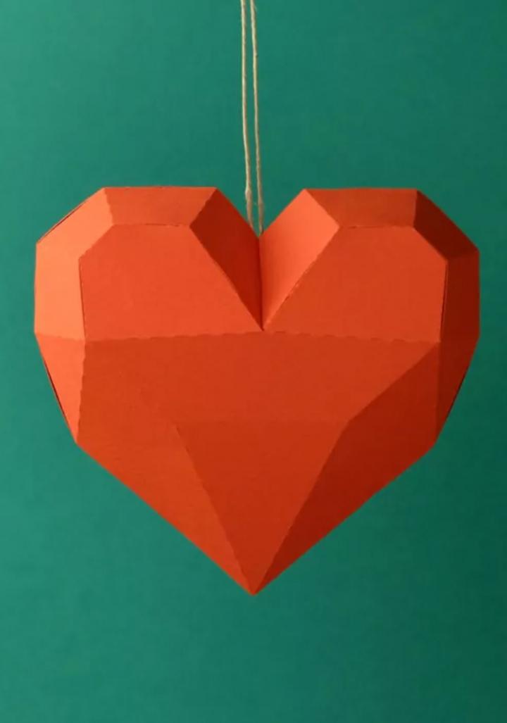 Corazón papiroflexia
