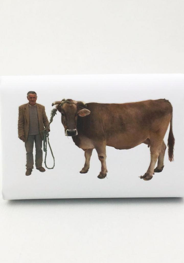 Xabrón leite de vaca e granadina